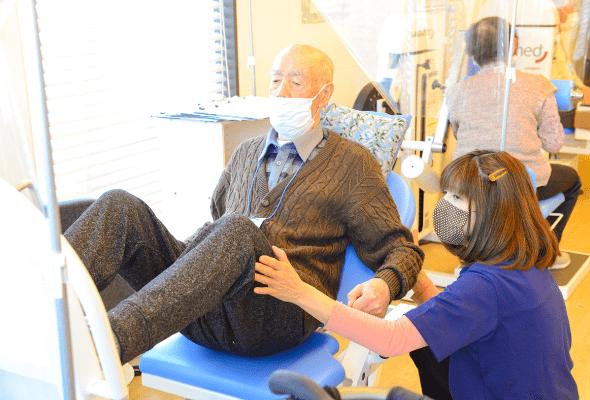 下肢の筋の再活性化