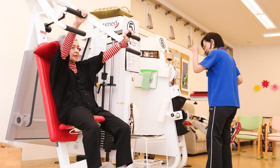 筋力強化とは違う老化に対するリハビリテーション